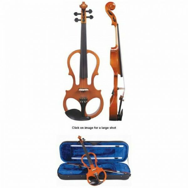 ANTONI 'PREMIERE' ELECTRALIN™ ELECTRIC VIOLIN OUTFIT ~ 4/4 SIZE - APEV44